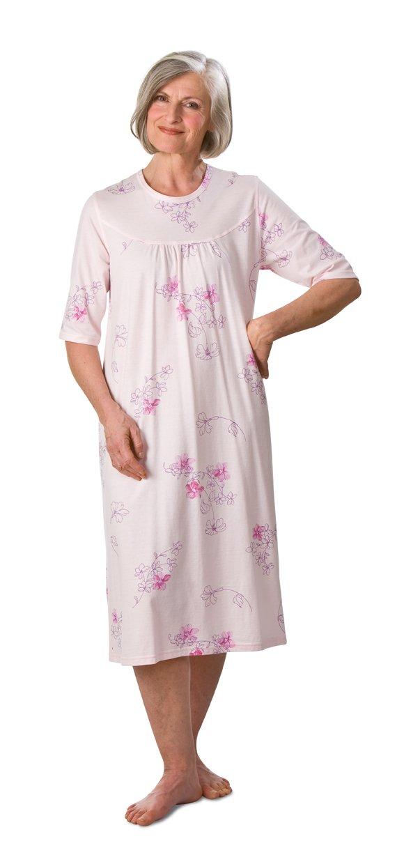 Damen-Pflegehemd 3/4 Arm