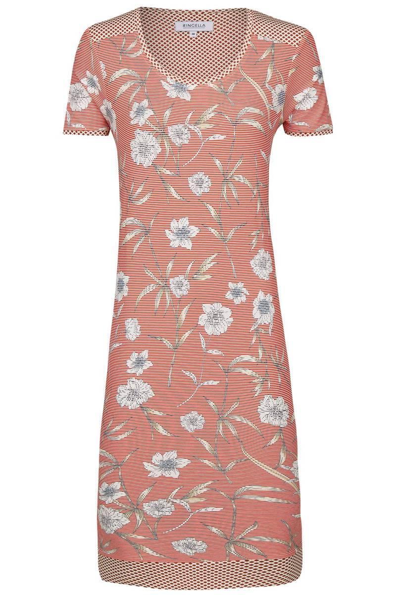 Nachthemd mit Blütendessin