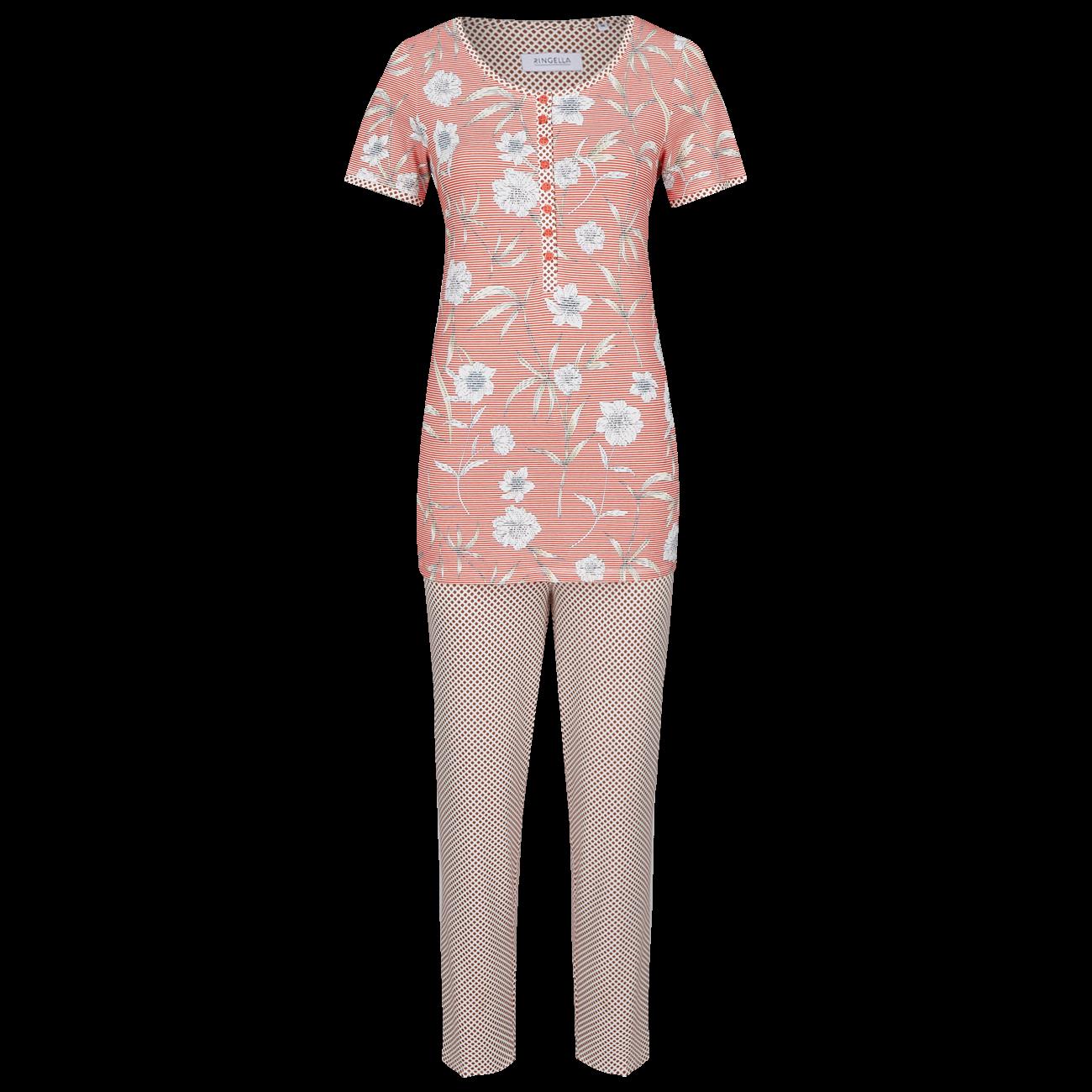 Pyjama mit 7/8 Hose cayenne | 36