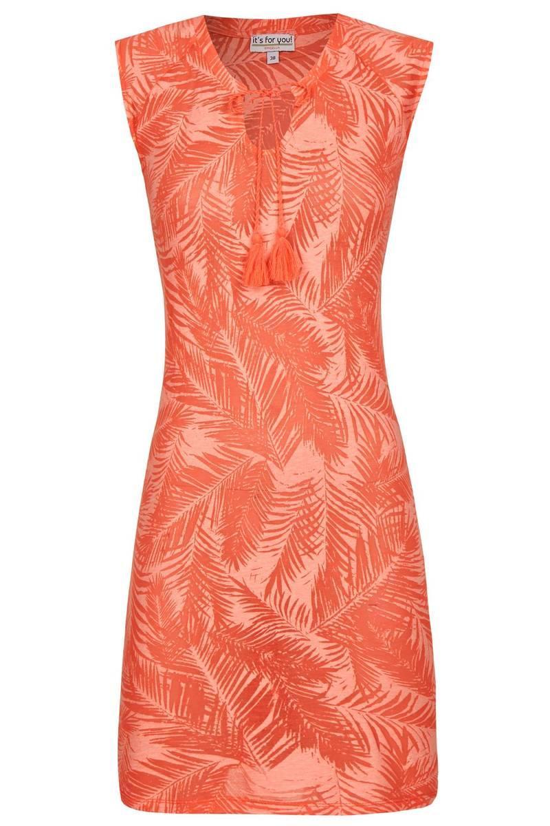 Kleid in Ausbrenner-Optik