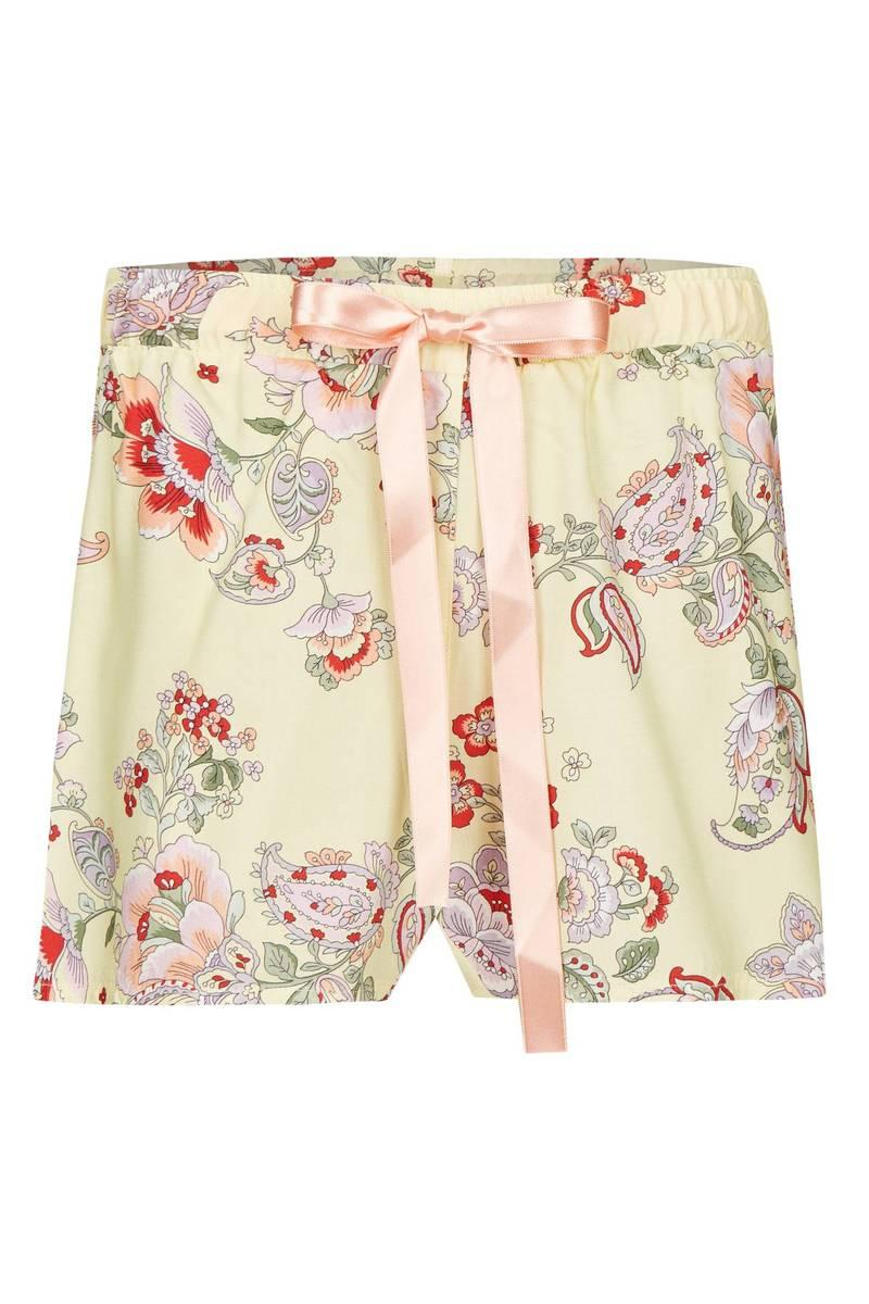 Shorts mit Blütenprint