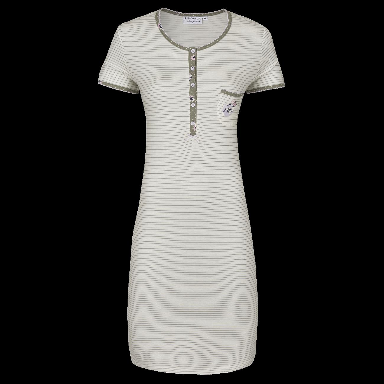 *Nachthemd mit Knopfleiste off-white | 40