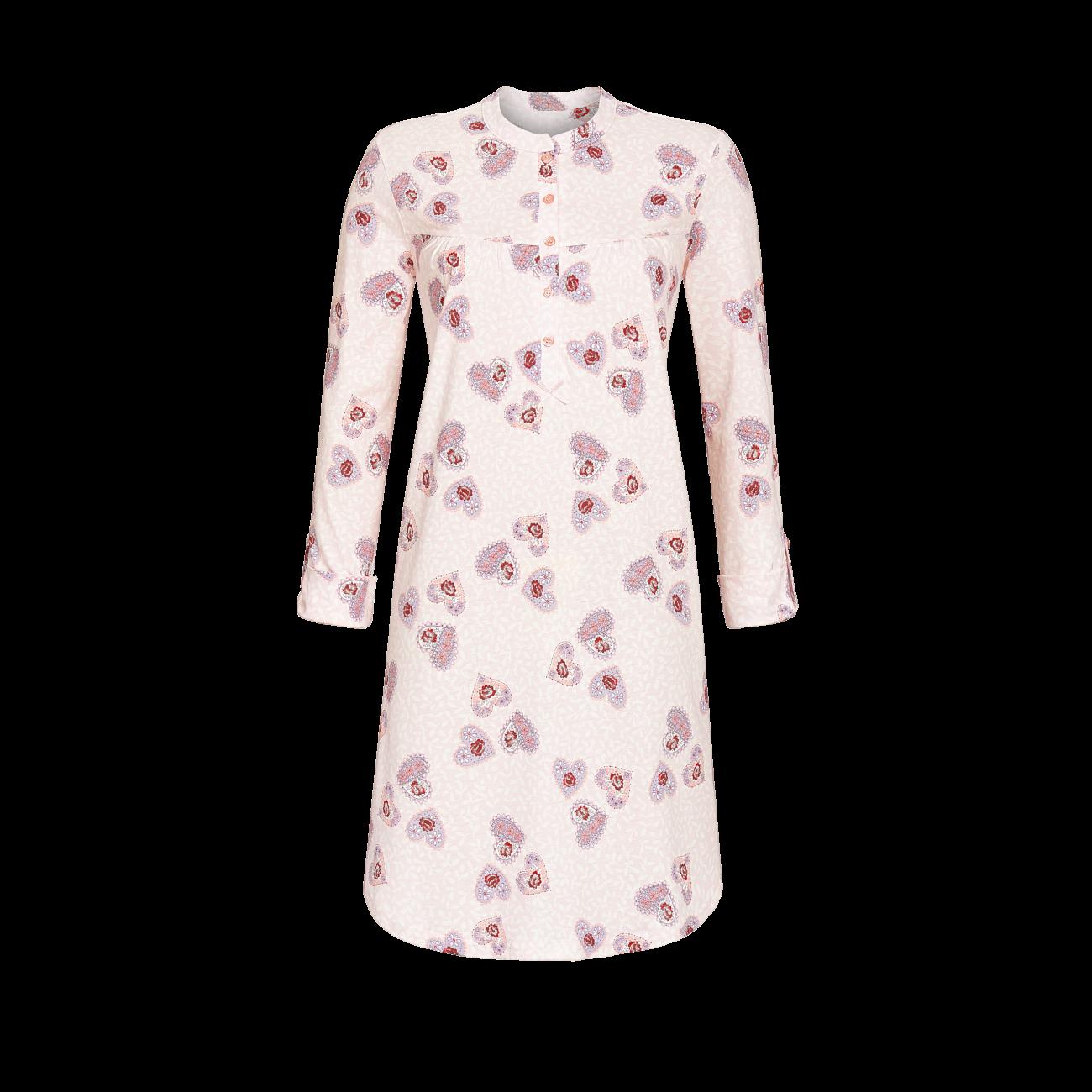 Nachthemd mit Knopfleiste rosa | 36