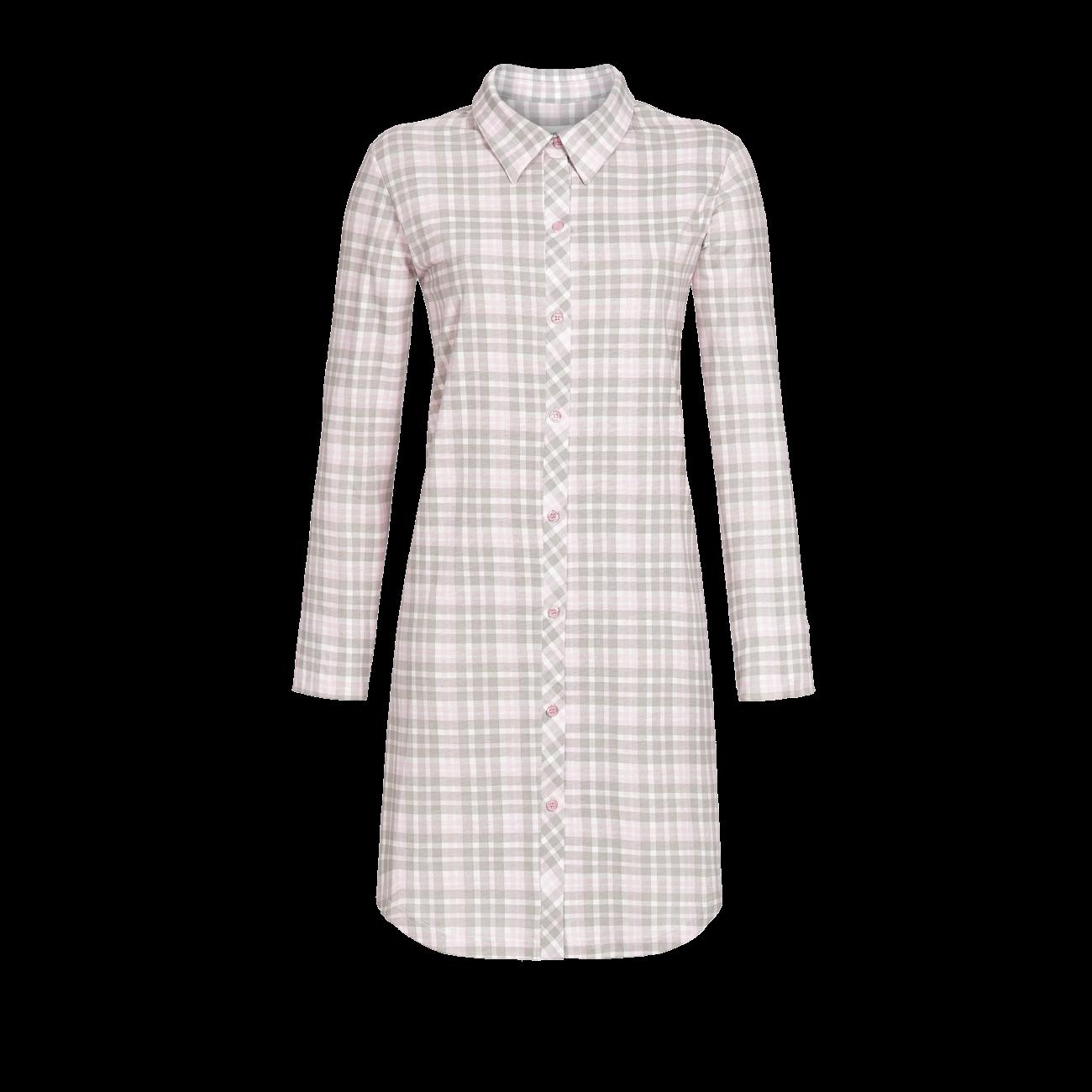 Nachthemd durchgeknöpft rosa | 36