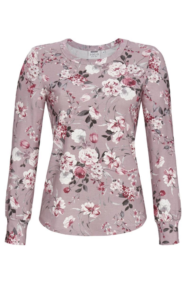 T-Shirt mit Blütenprint