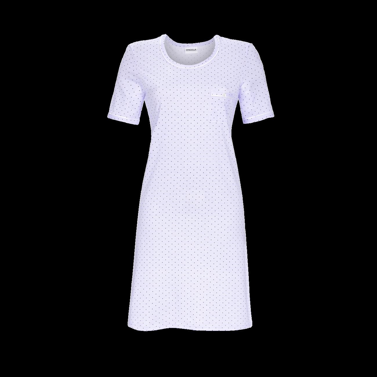 Nachthemd mit Rundhalsausschnitt ciel | 36