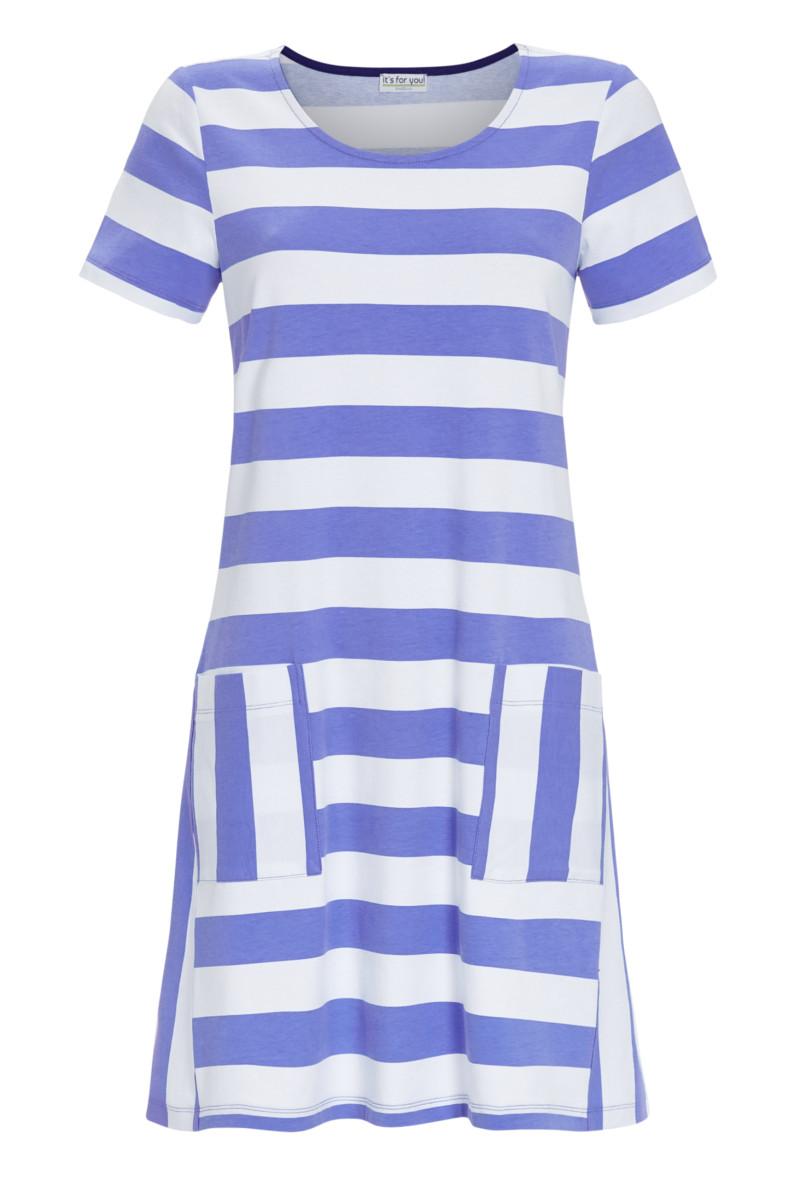 Kleid mit Blockstreifen
