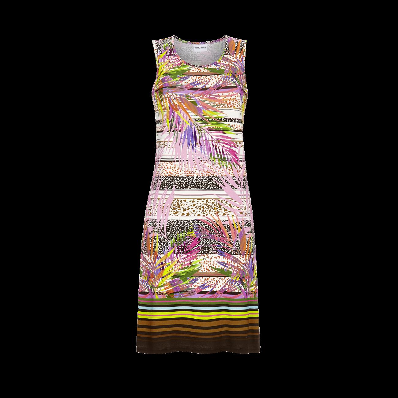 *Kleid ohne Arm bunt | 36