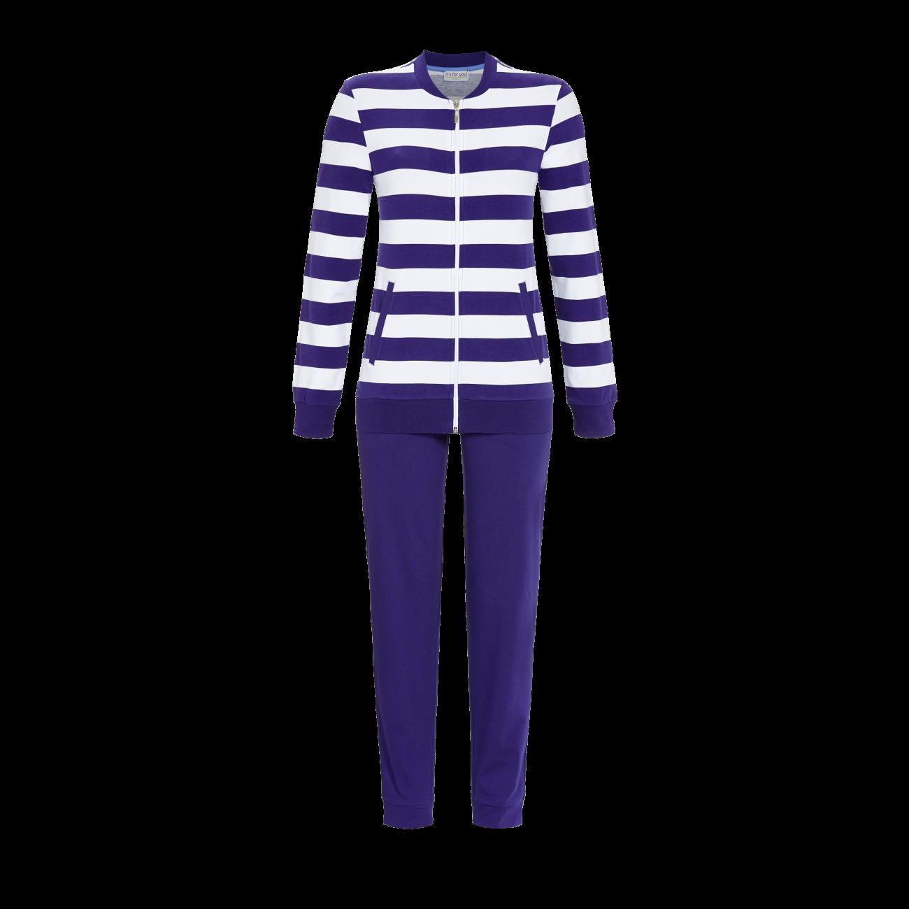 Anzug mit langer Hose iris | 36