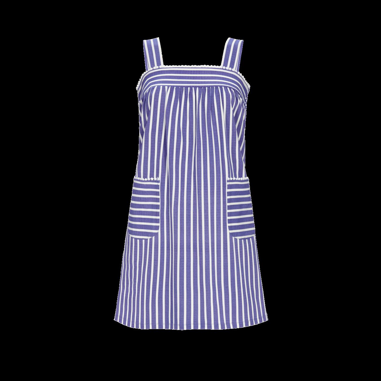 *Kleid mit Trägern brillant blue   40