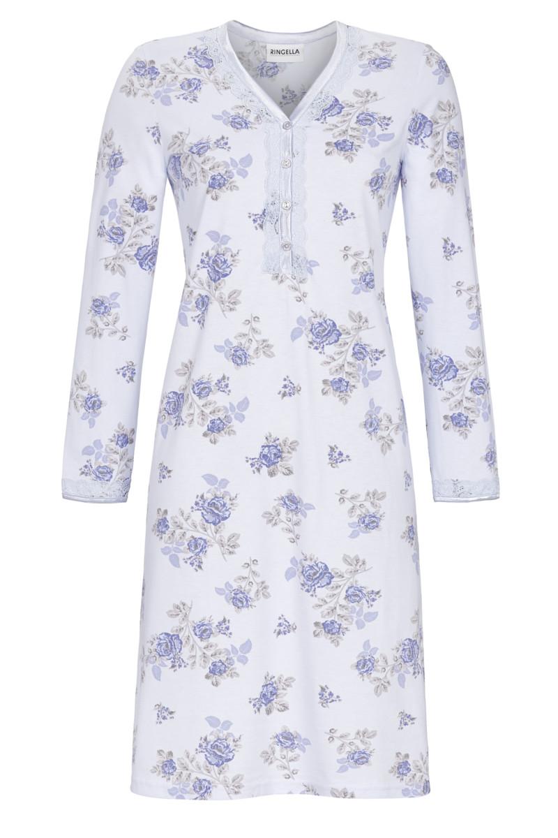 Nachthemd mit Knopfleiste