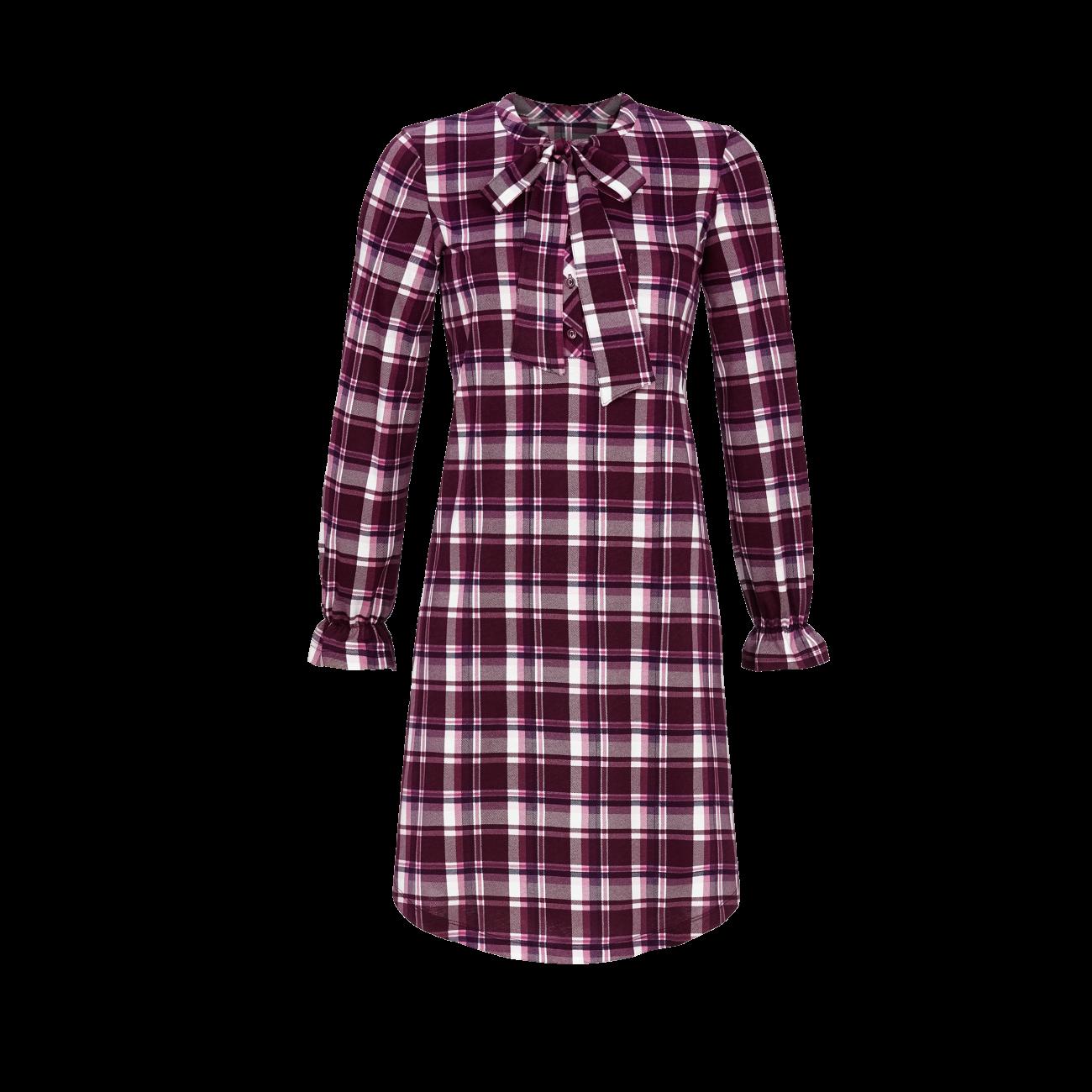 Nachthemd mit Knopfleiste rosenholz | 38