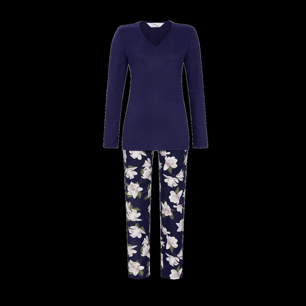 Pyjama mit V-Ausschnitt night | 36