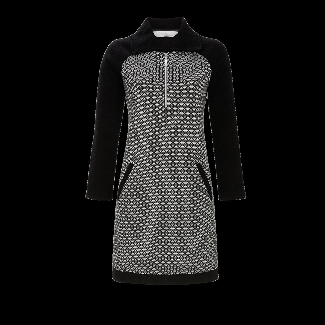 Kleid mit Reißverschluß schwarz   38