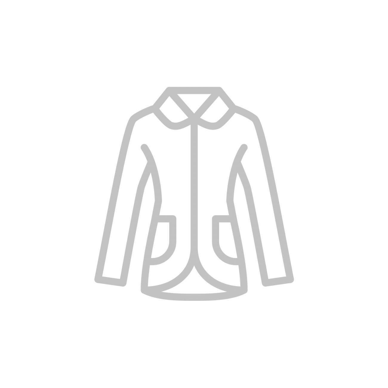 Kurzmantel mit Pünktchendessin silbergrau | 48