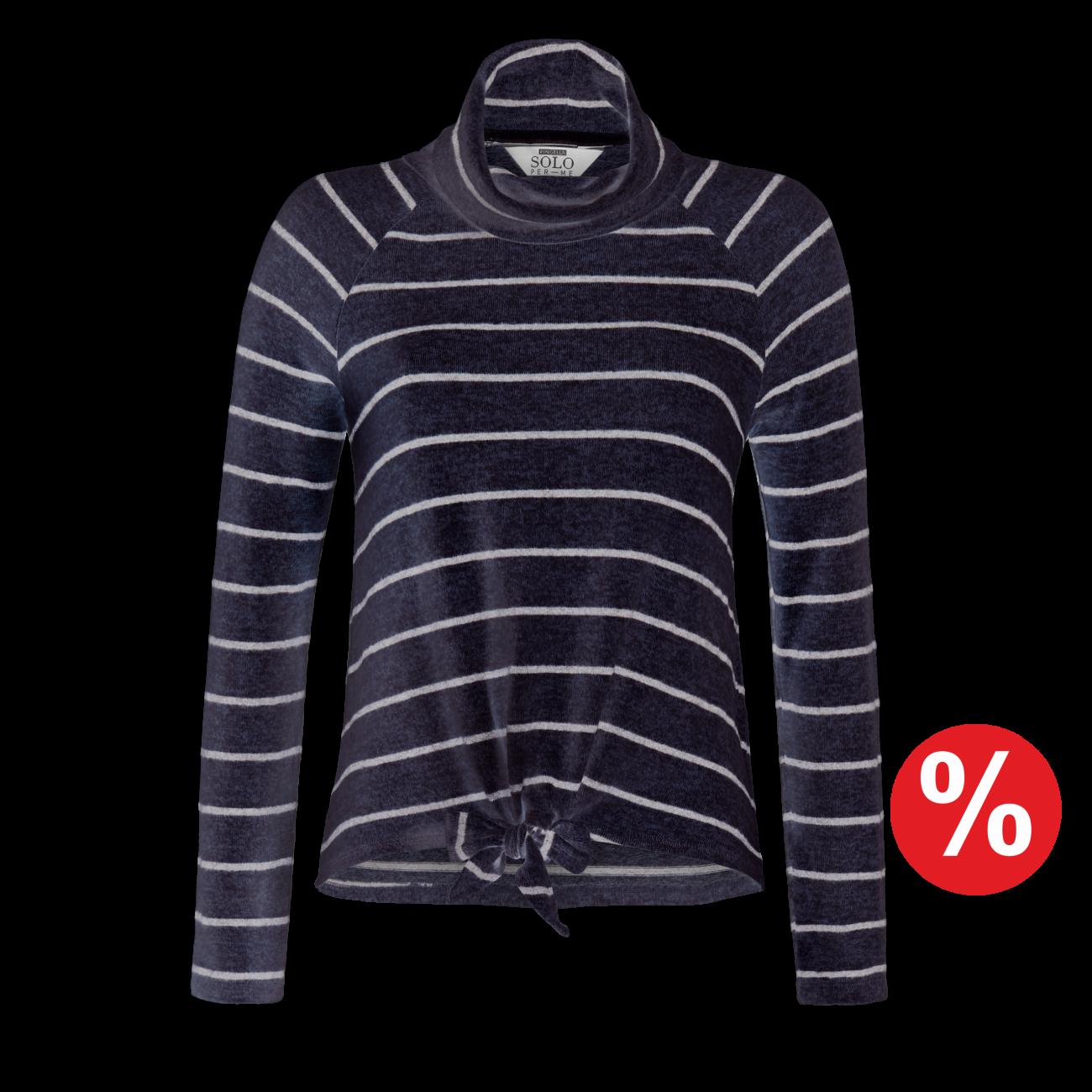 Pullover indigo-melange | 48/0