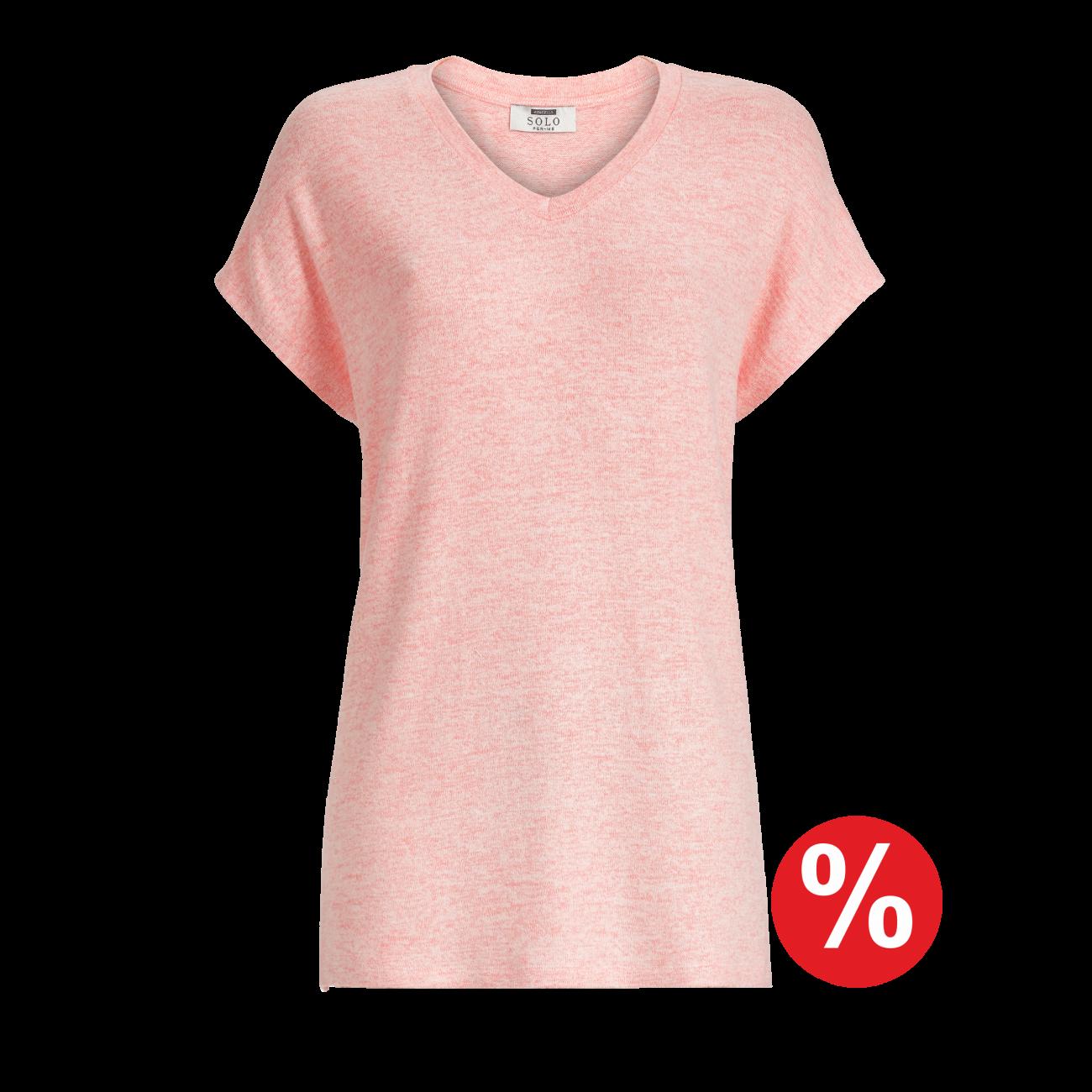 Pullunder rosa-melange | 44/6
