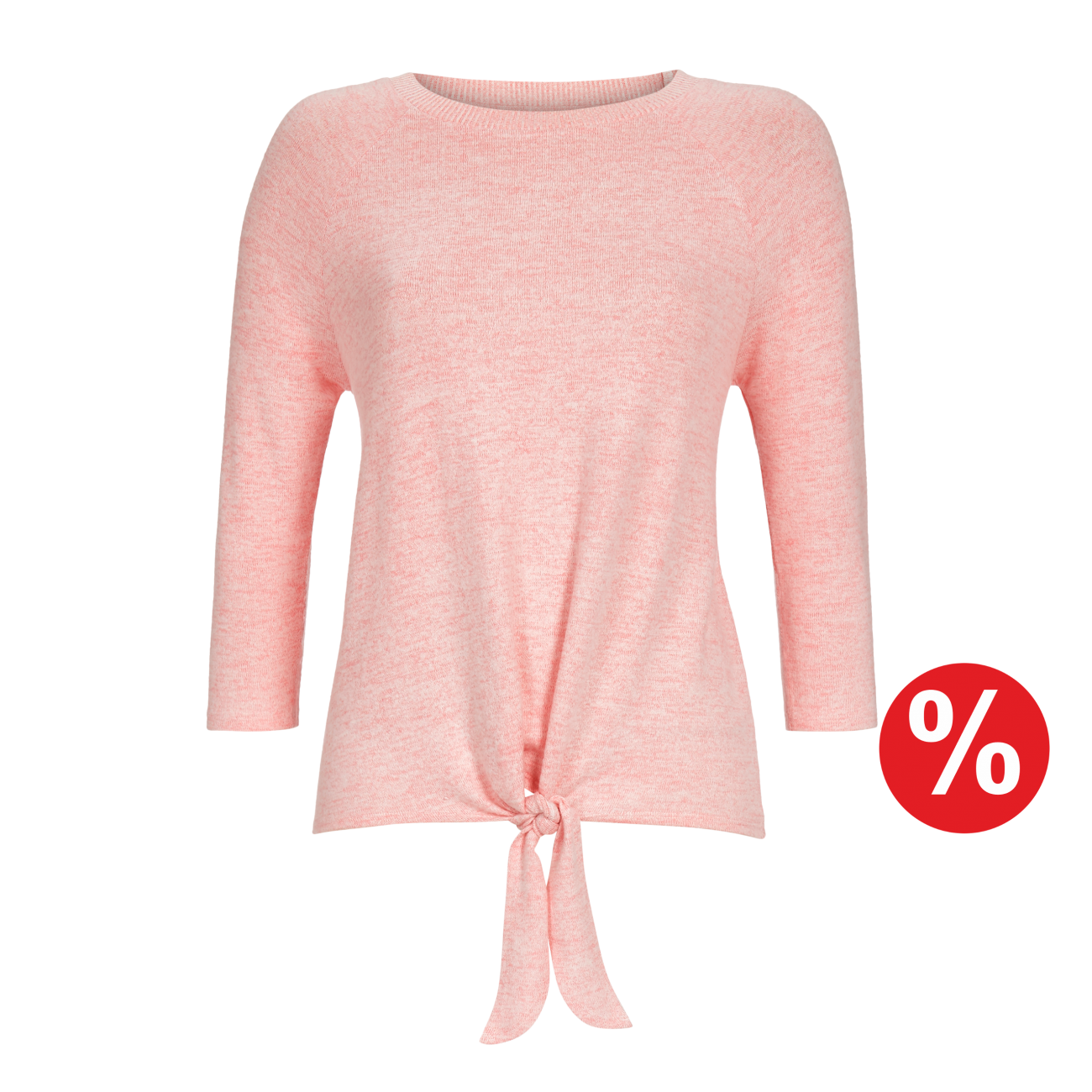 Pullover rosa-melange | 48/0