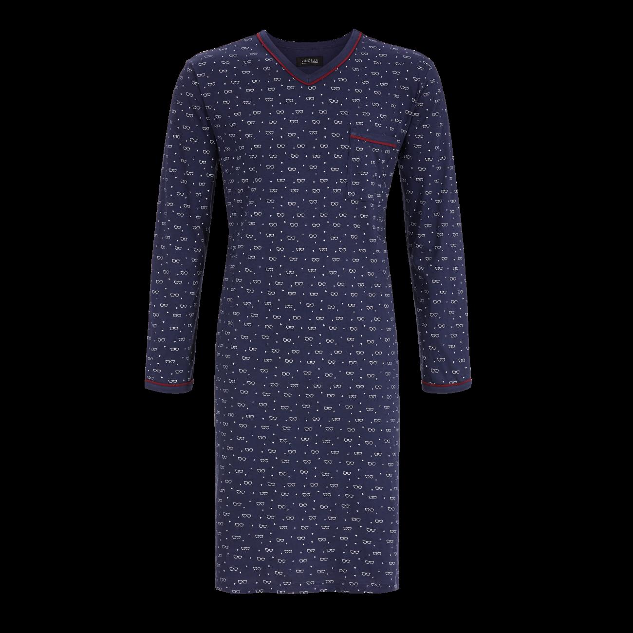 Nachthemd marine | 50