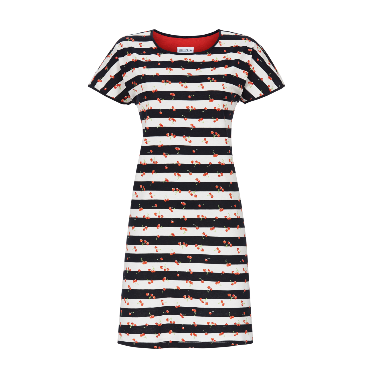 Nachthemd geringelt dark navy | 40