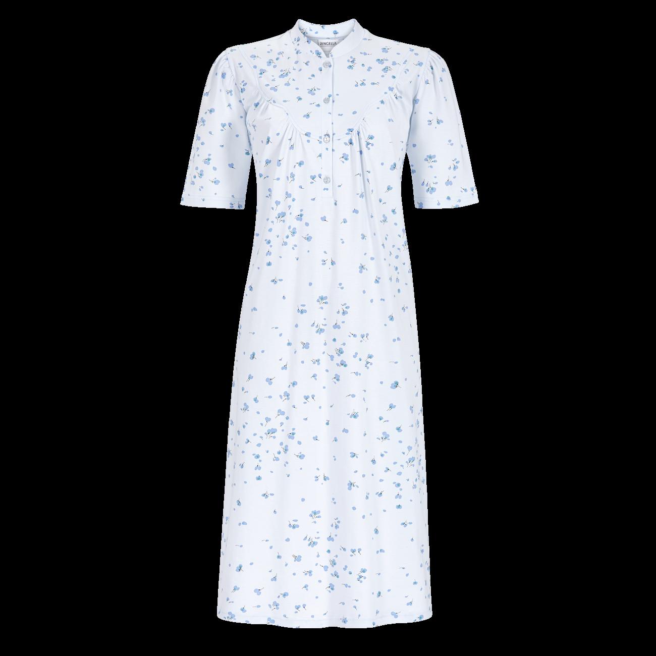 Nachthemd mit Stehkragen