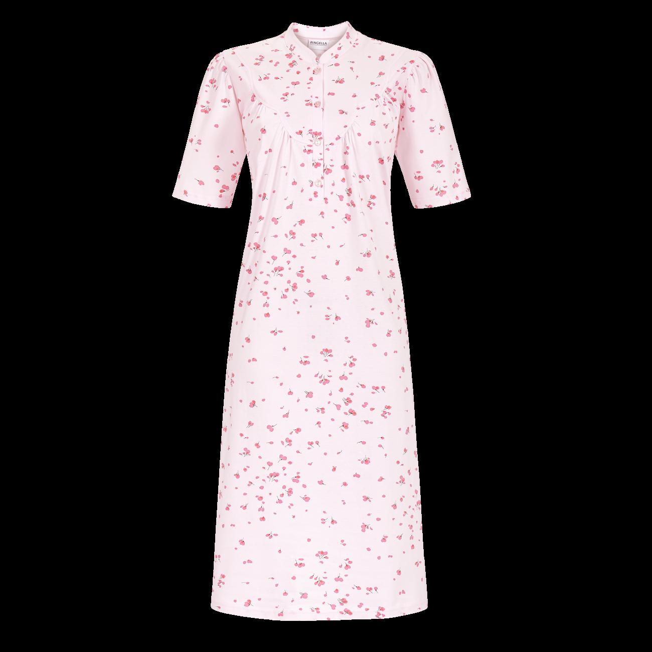Nachthemd mit Stehkragen puder | 42