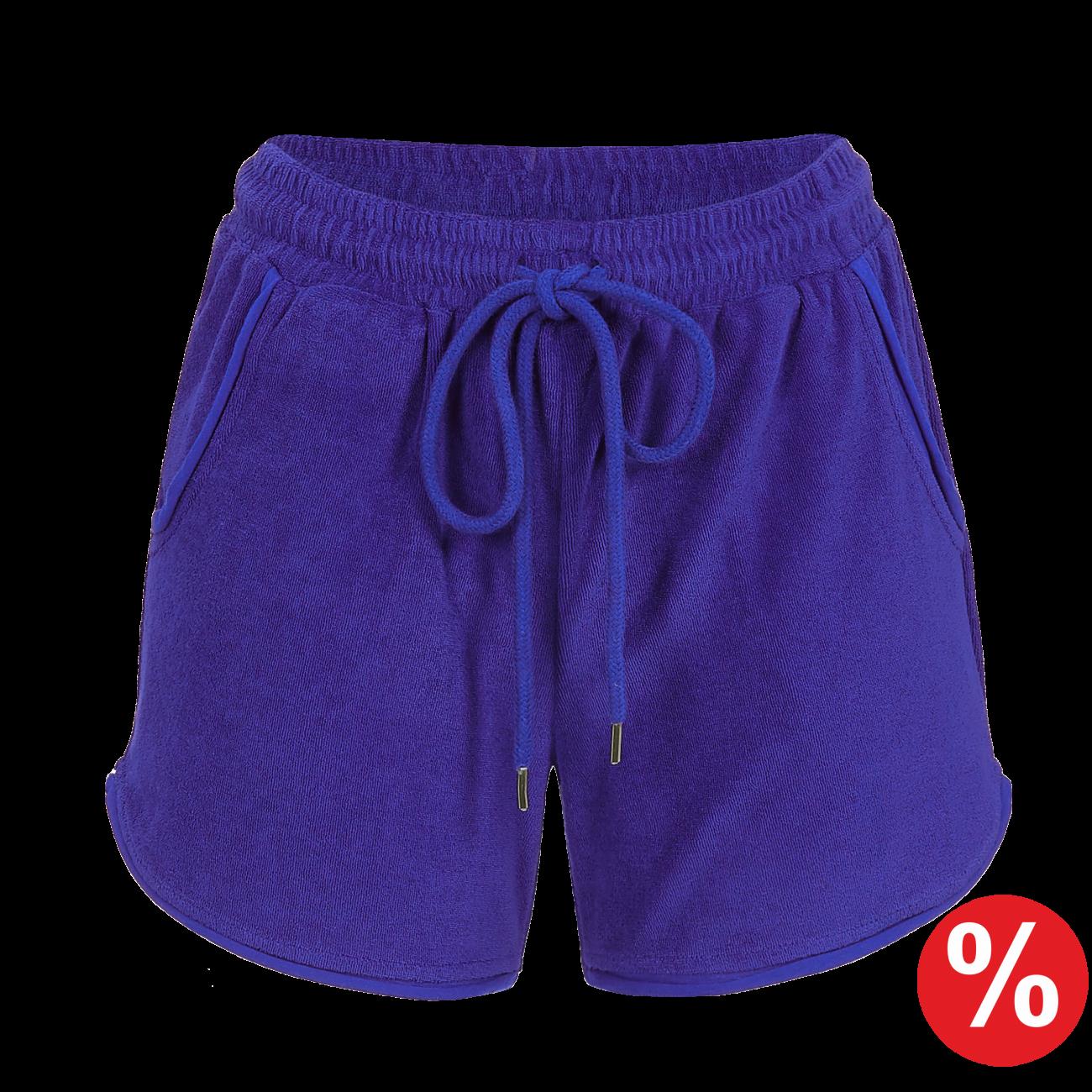 Shorts mit Bindeband clematis blue | 36