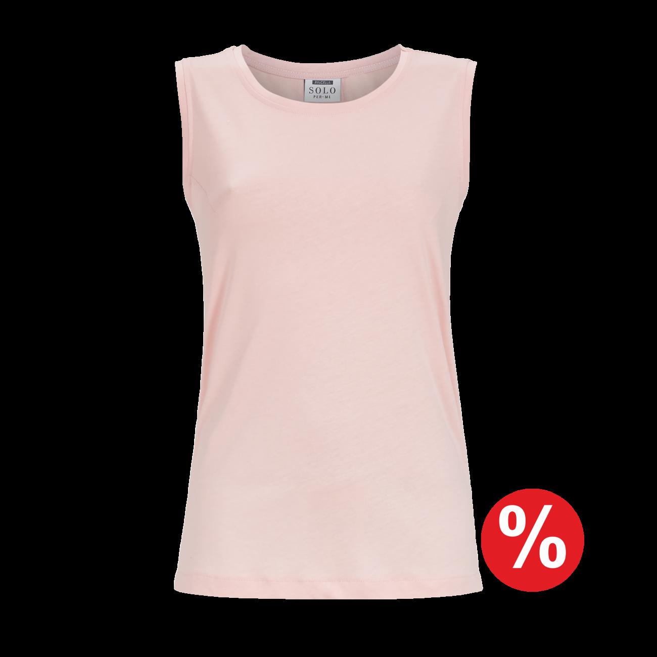 T-Shirt ohne Arm rosa | 36