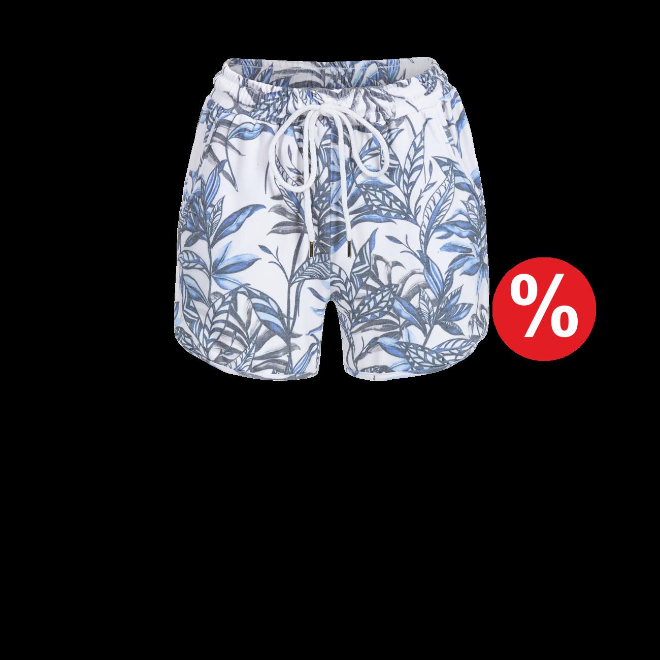Shorts mit Bindeband bunt | 36