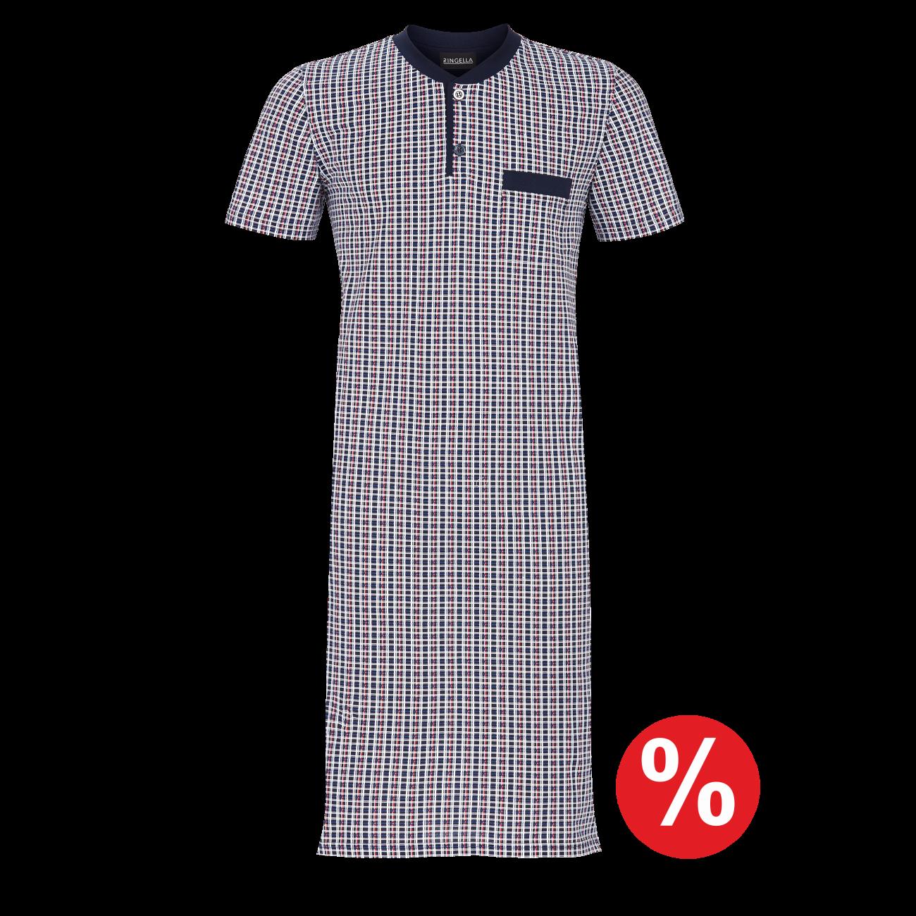 Nachthemd mit Knopfleiste night | 54