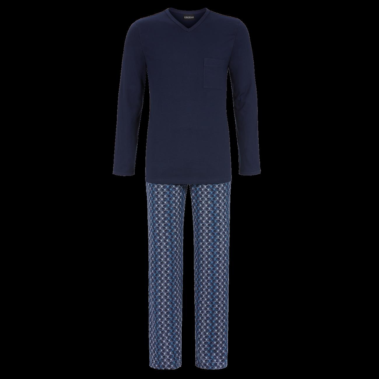Pyjama mit V-Ausschnitt night   54