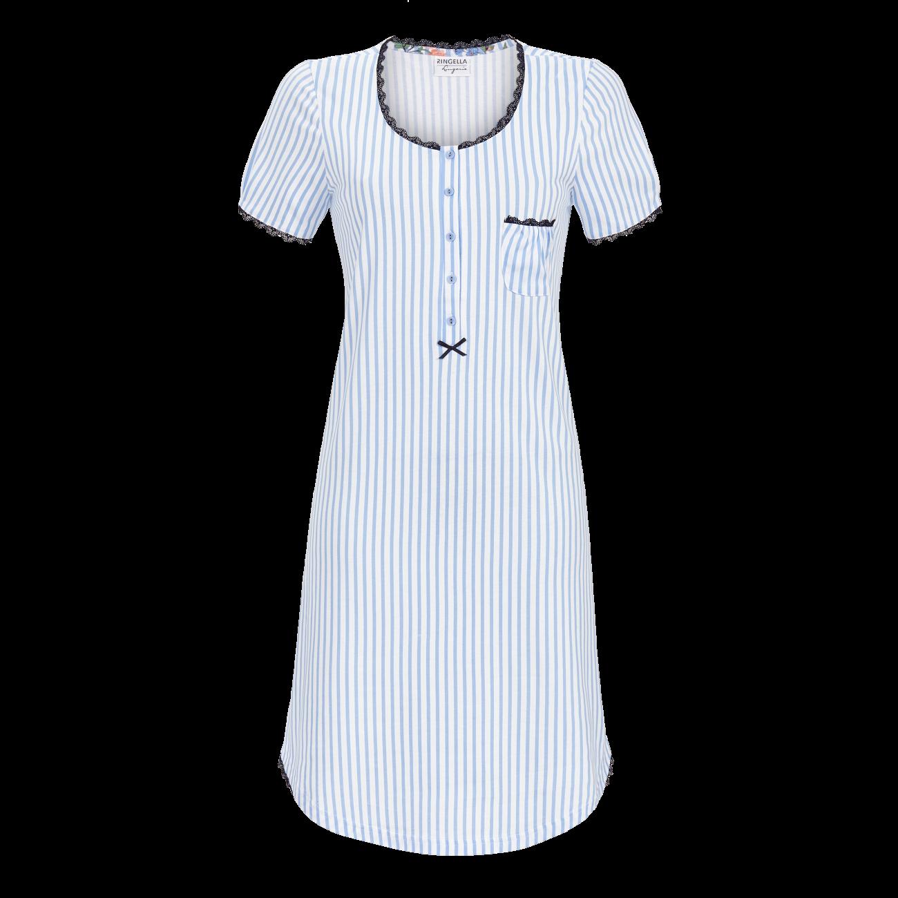 Nachthemd im Streifenlook blue bell | 36