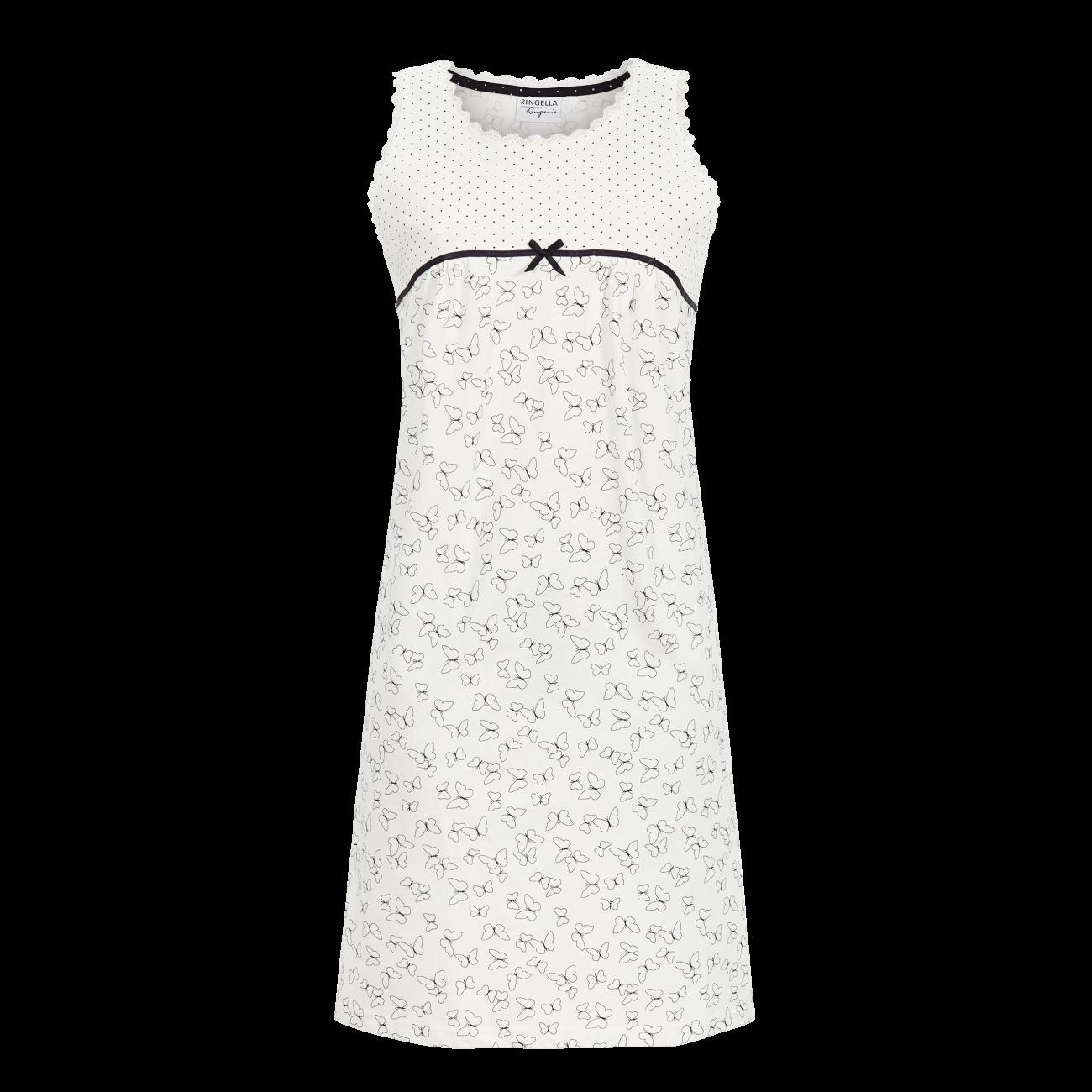 Nachthemd im Mustermix off-white   36
