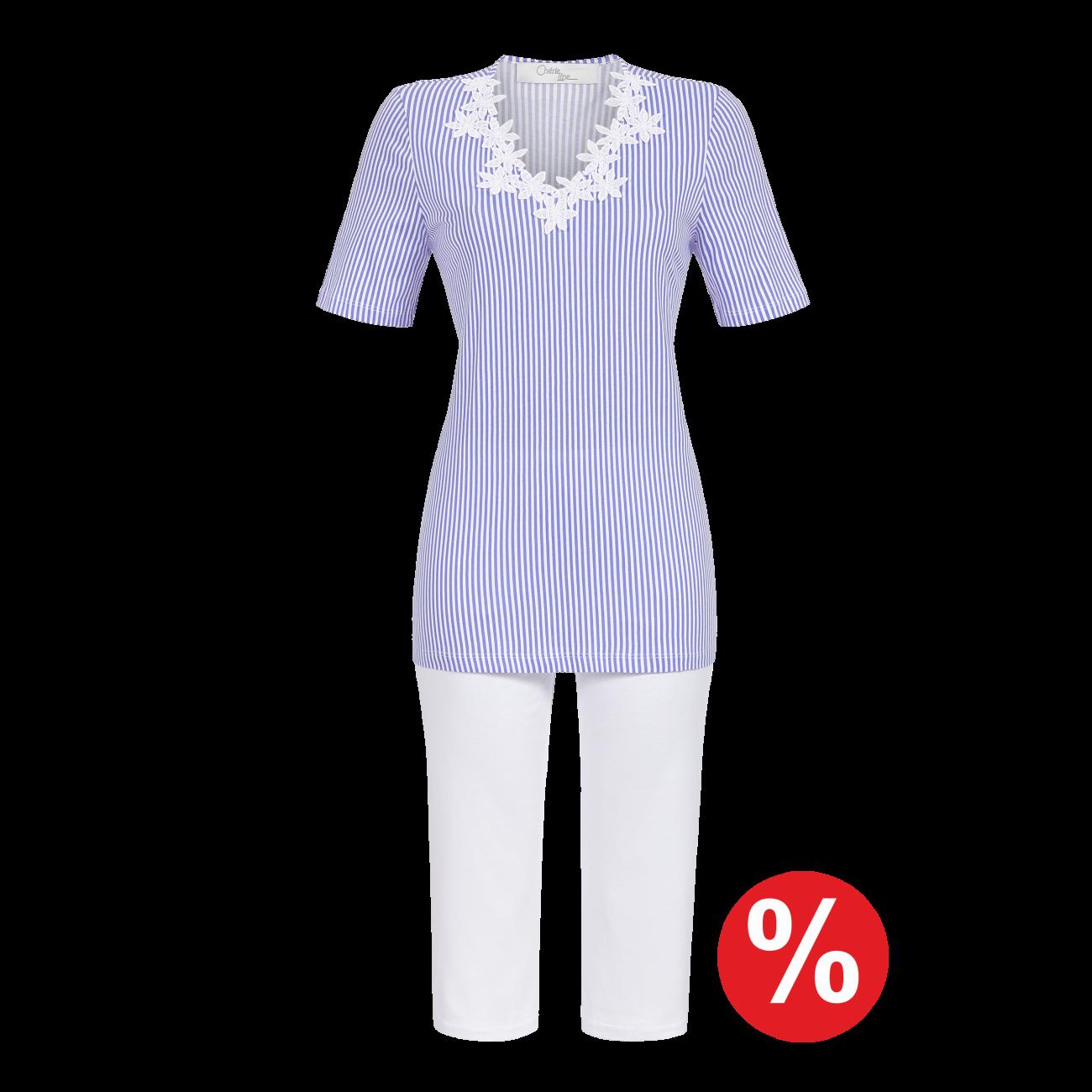 Pyjama mit Caprihose