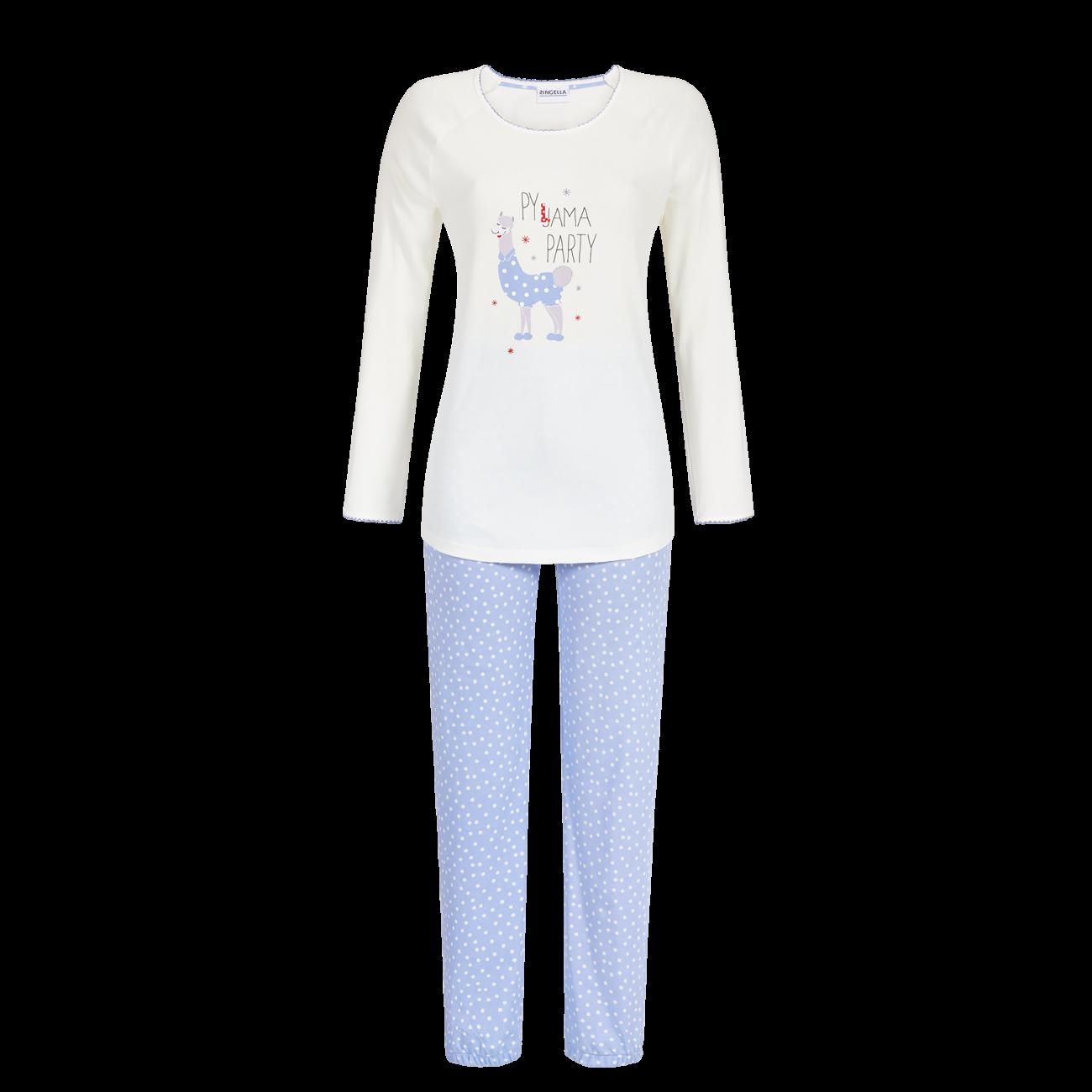 Pyjama Langarm off-white | 36
