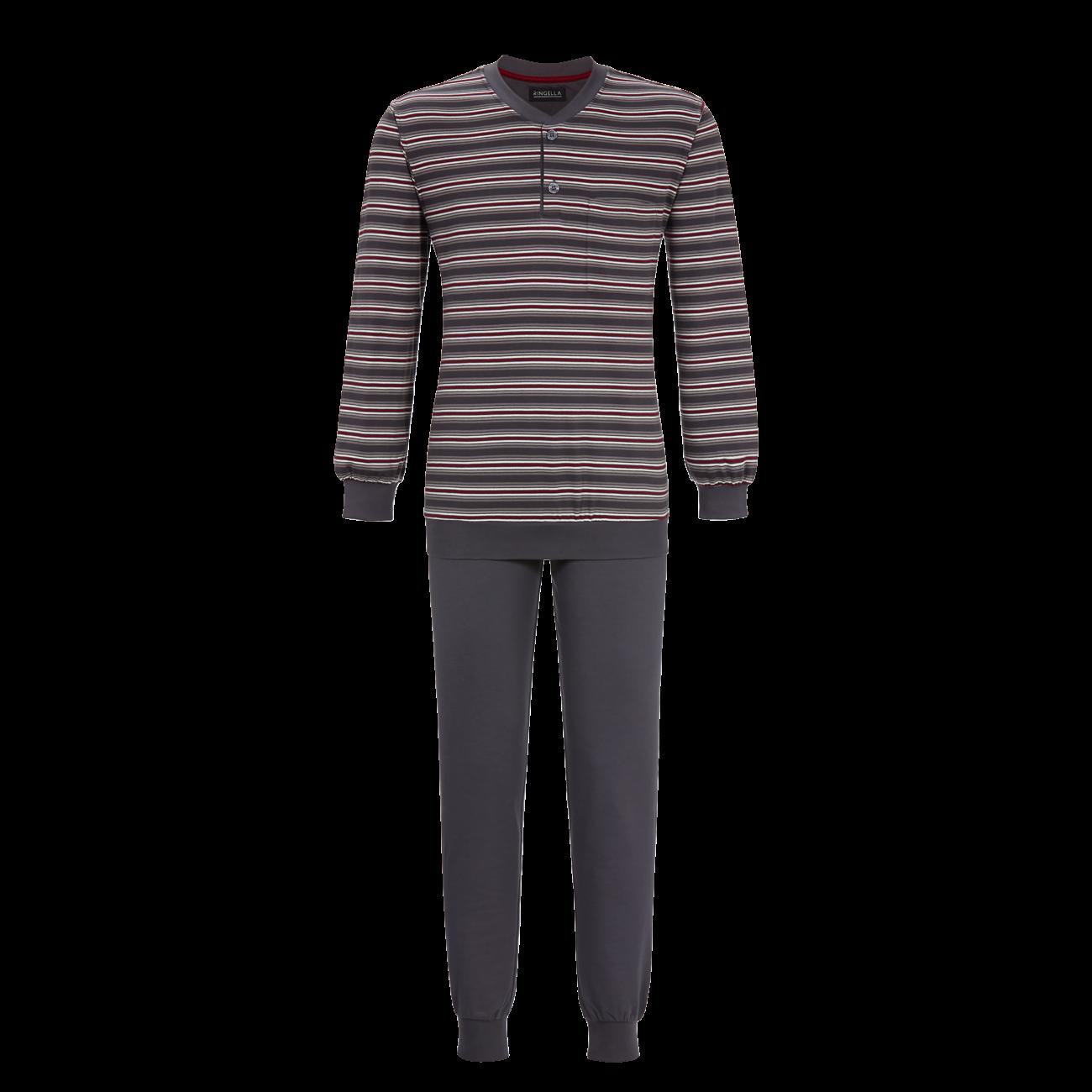 Pyjama mit Bündchen iron | 48