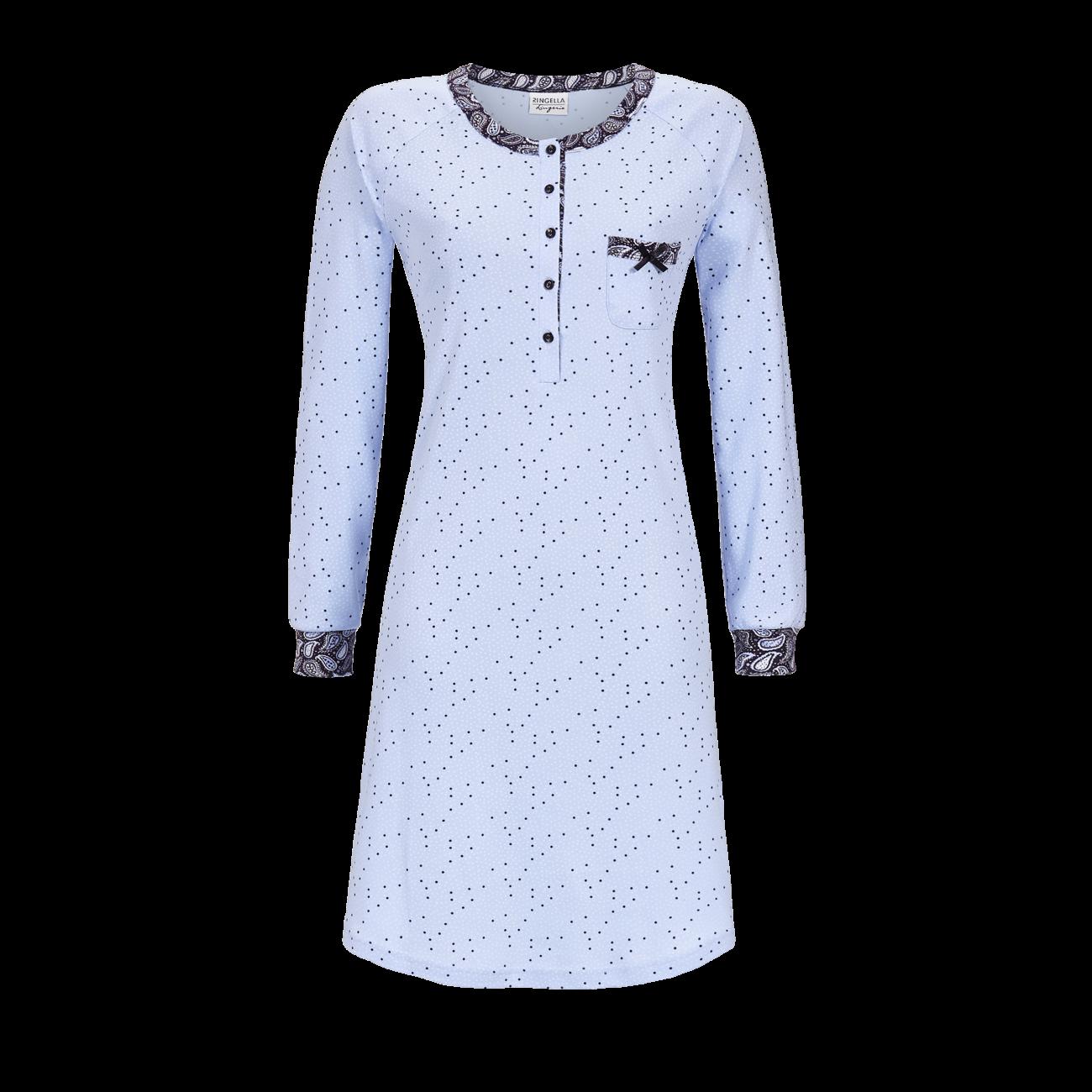 Nachthemd mit Punktdessin