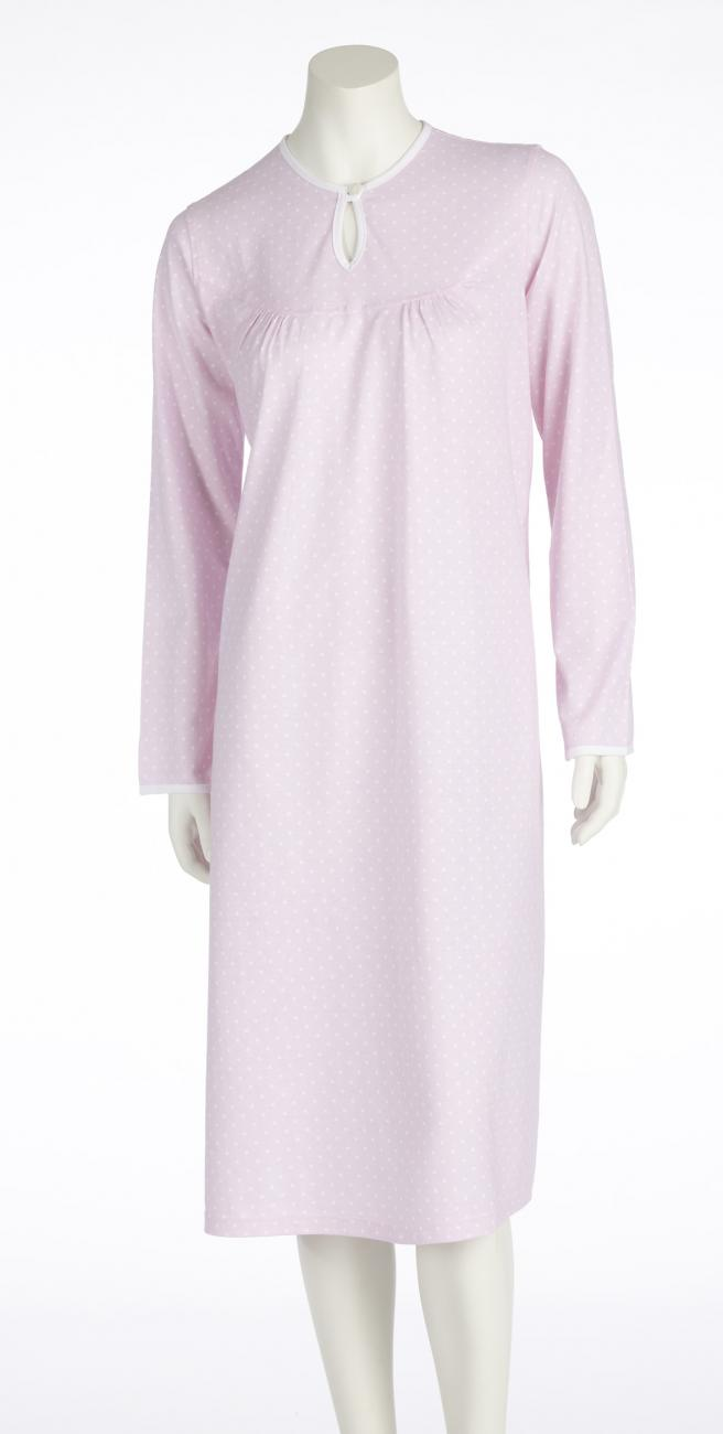 Damen-Pflegehemd 1/1 Arm rosa | S