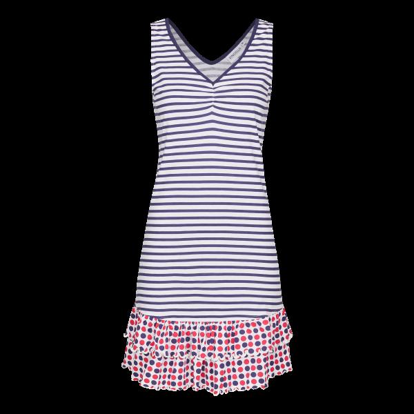Kleid im Mustermix marine | 38