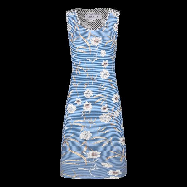 Nachthemd mit Blütendessin blue | 40
