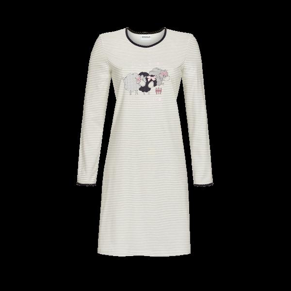 Nachthemd mit Schäfchen-Motiv silber | 42