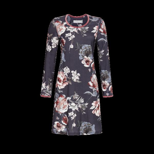 Nachthemd im Blumendessin bunt | 36