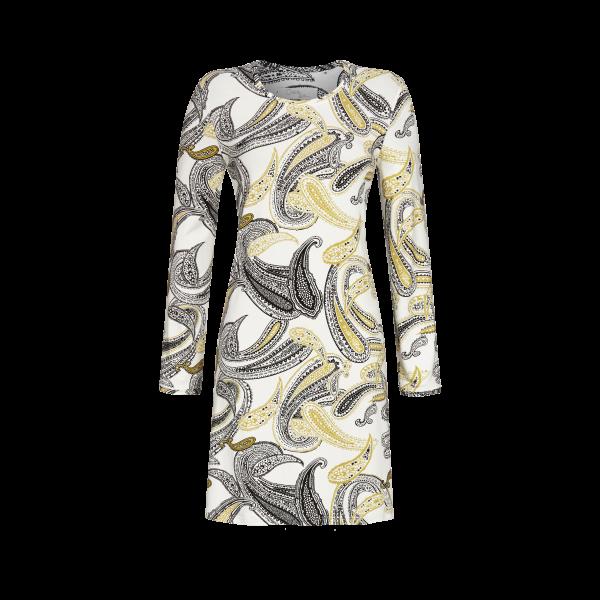 Nachthemd im Paisley-Dessin off-white | 42