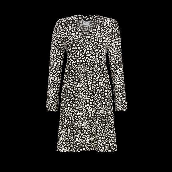 Kleid im Lagenlook schwarz | 36