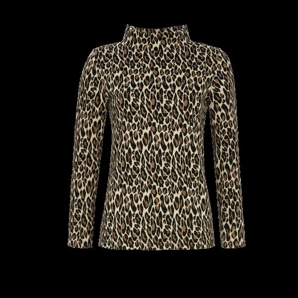 Pullover mit Stehkragen bunt | 38
