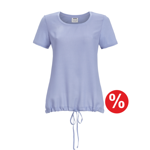 T-Shirt Kurzarm eisblau | 40