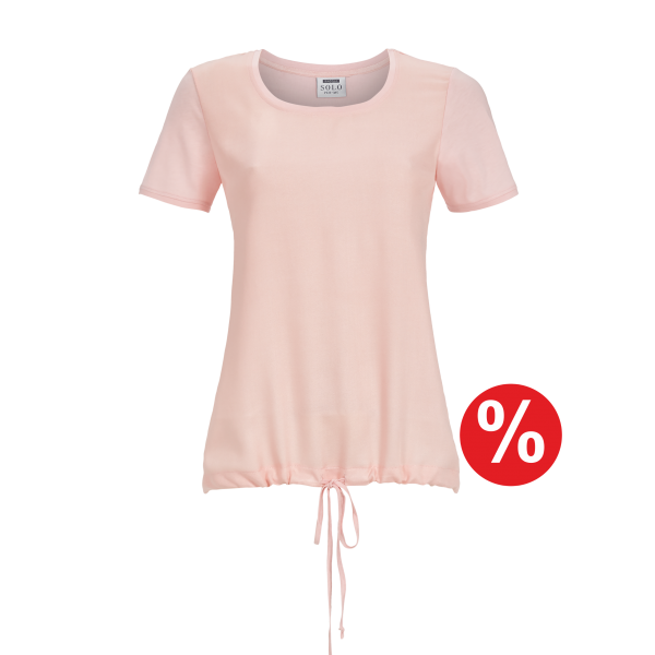 T-Shirt Kurzarm rosa | 46