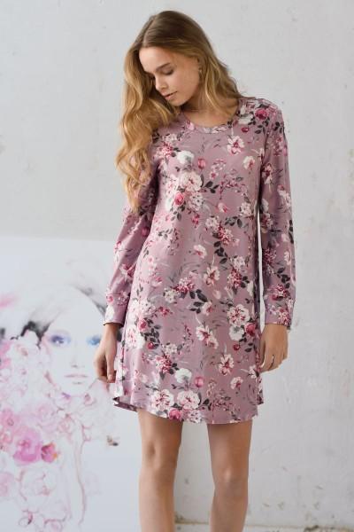 Nachthemd mit Blütenprint