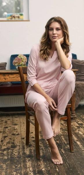 Pyjama mit 3/4 Arm