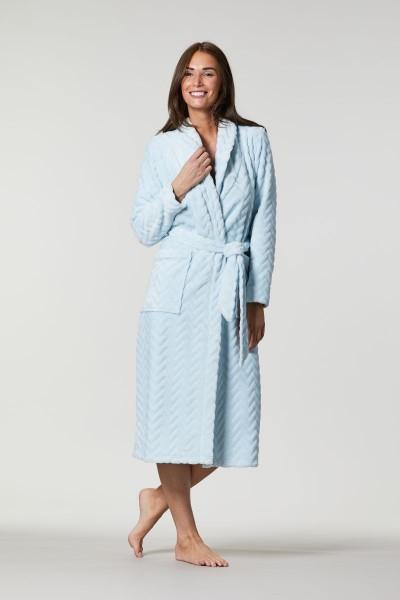 Mantel mit Schalkragen aqua | 36